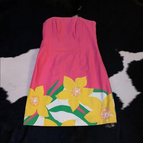 Lilly Pulitzer Dresses & Skirts - Strapless Pulitzer dress EUC